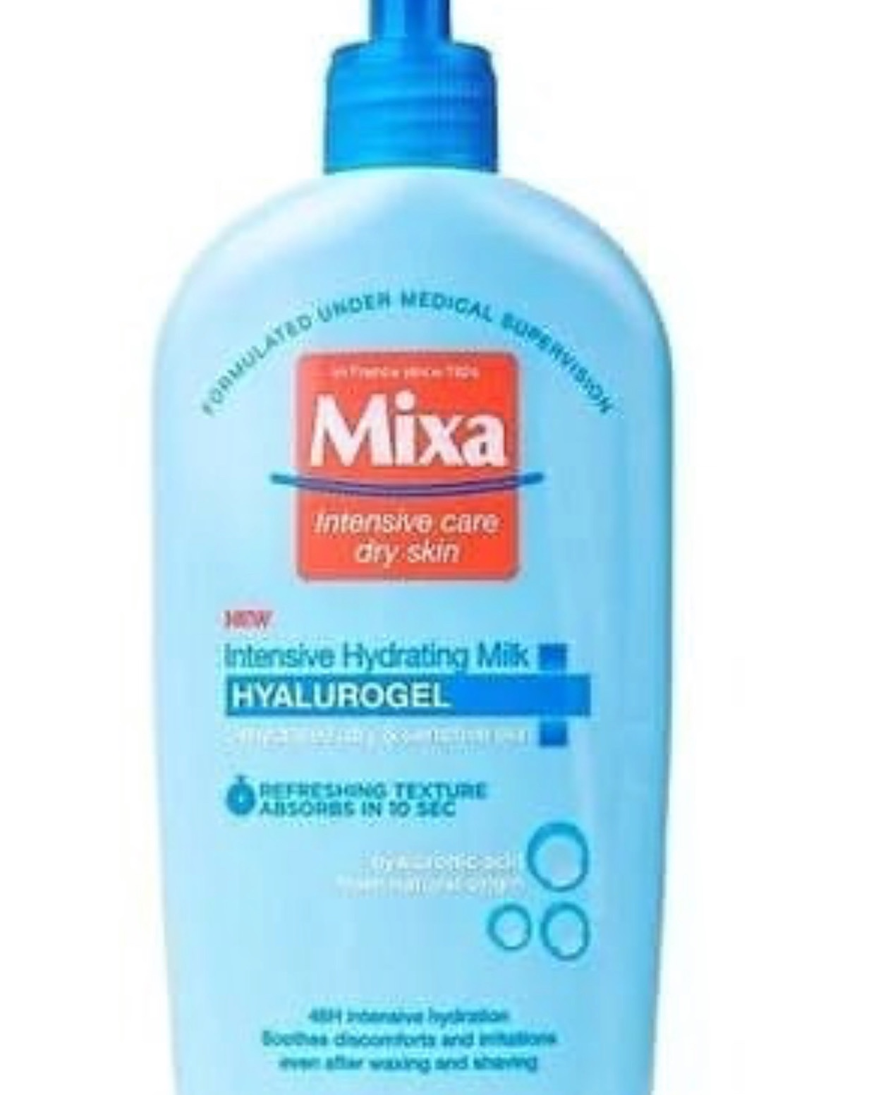 Mixa body lotion
